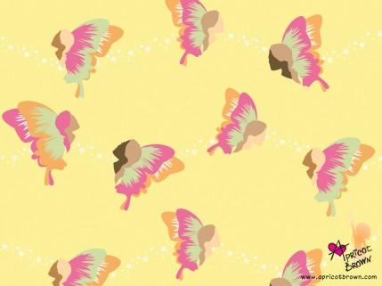 Apricot Brown Desktop Wallpaper 1